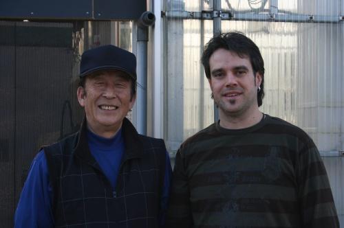 Guido Krone von Koi-Lippe mit Herrn Aoki